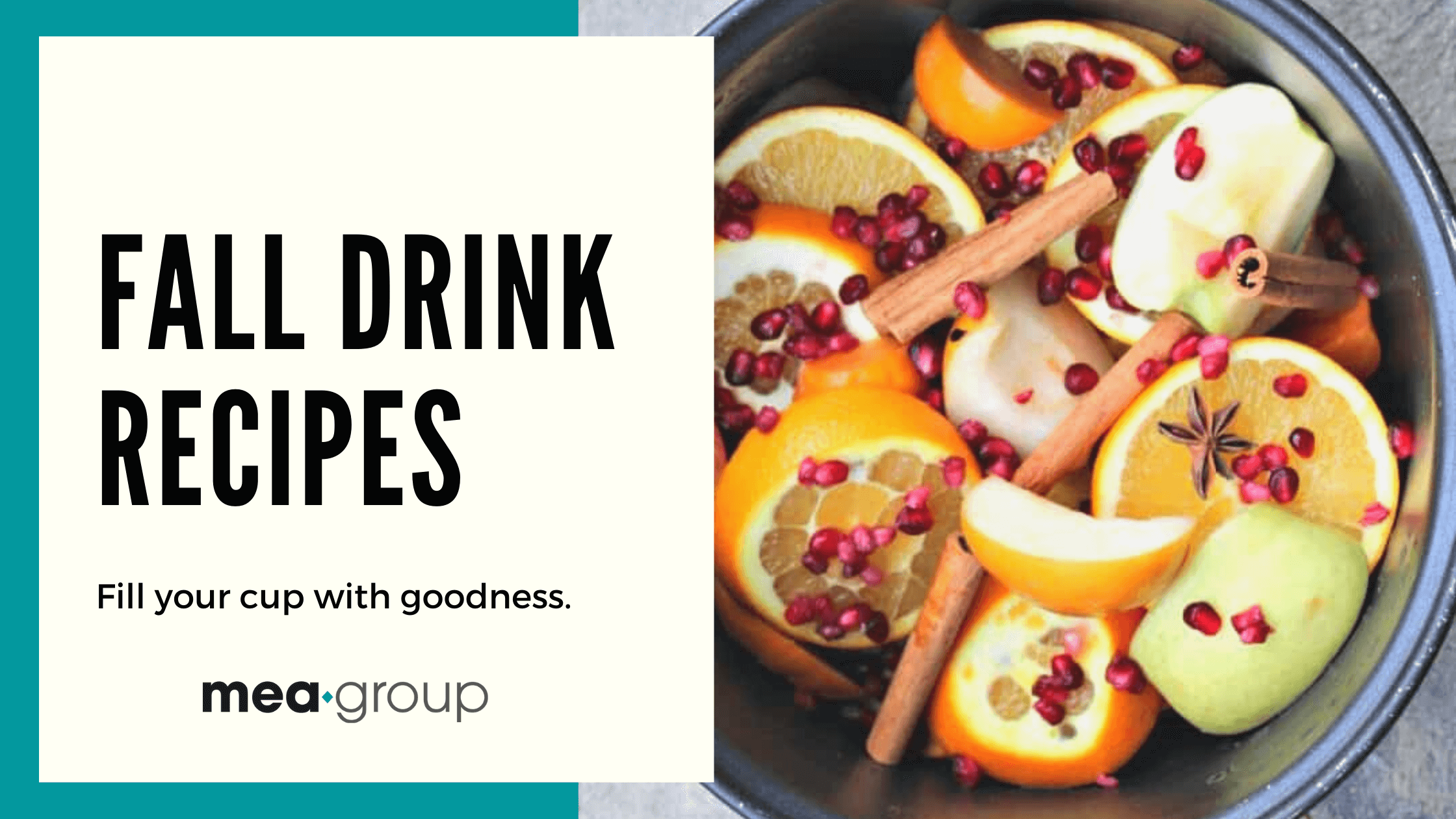FALL DRINK RECIPES & COOL BRANDED MUGS