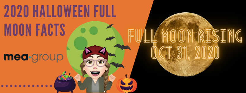 FULL MOON RISING- HAPPY HALLOWEEN 2020
