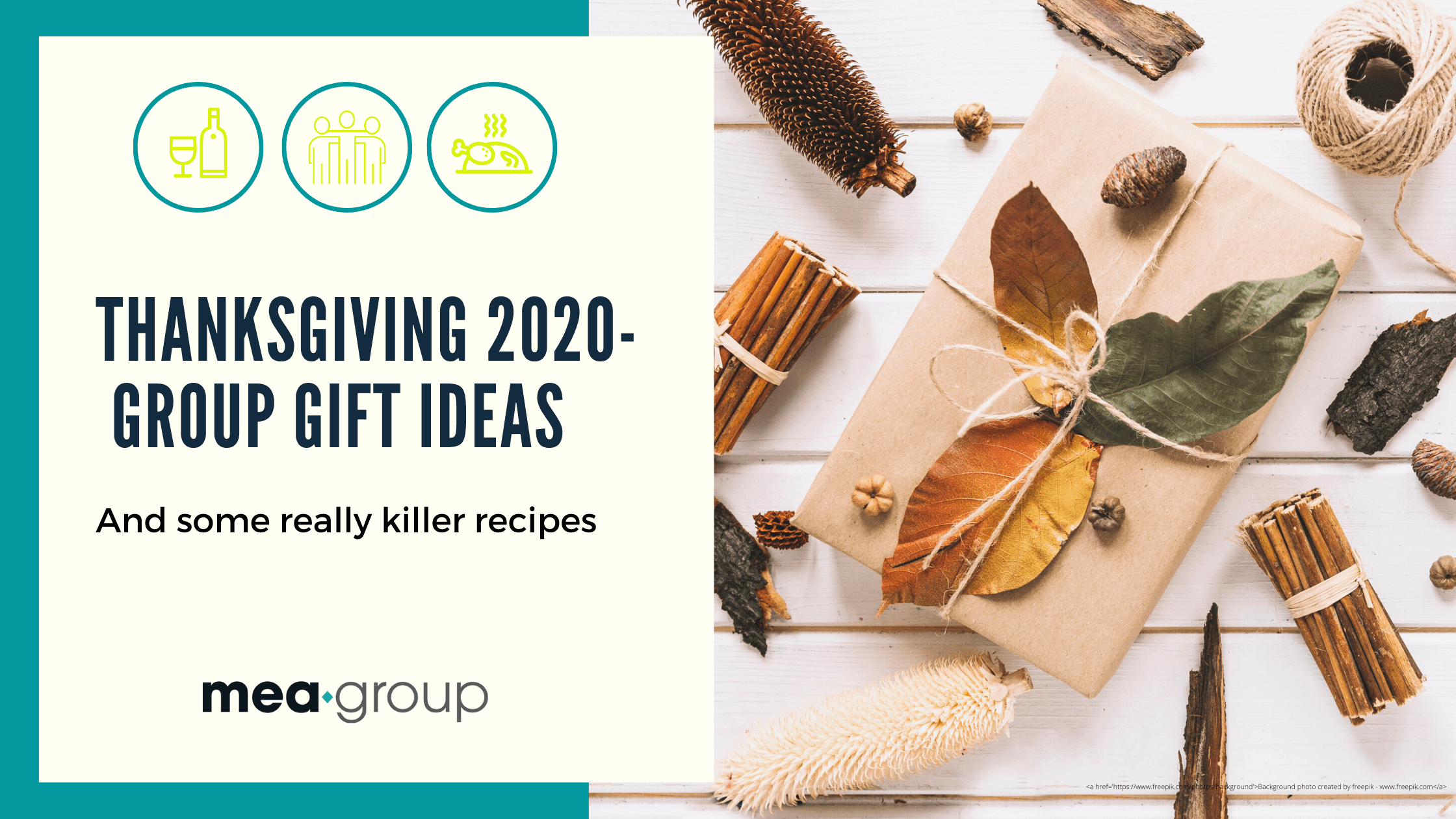 Thanks-GIVING 2020-  Group Gift Ideas
