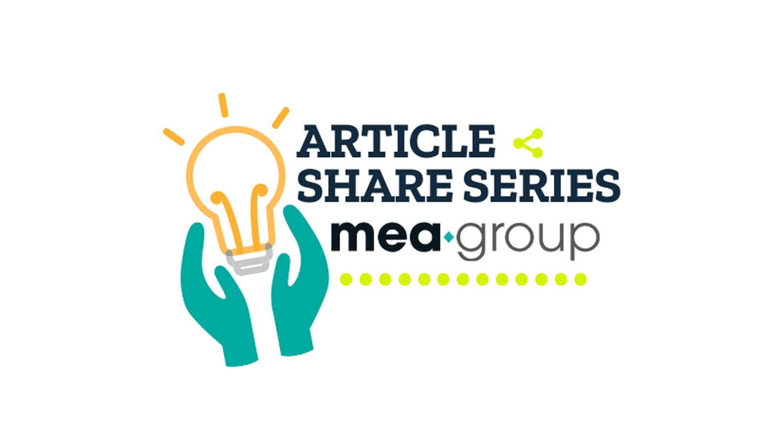 "ARTICLE SHARE SERIES- CHAPTER 1""Marketing Must Go On"""